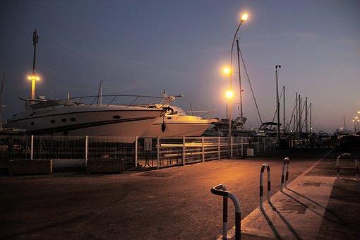 Boat, Azur, Holiday, Summer, Port, Travel