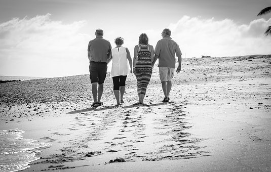 Beach, Friendship, Holiday
