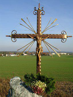 Lettering, Religion, Text, Believe, Cross, Jesus