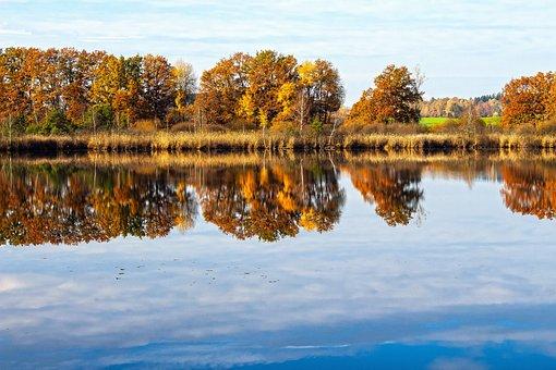 Lake, Autumn, Nature, Landscape, Forest, Romantic