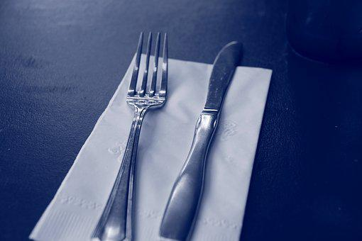 Fork, Knife, Restaurant, Meal, Gastronomy, Menu