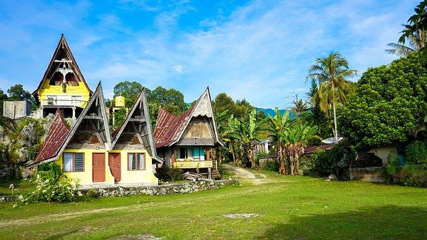 Lake Toba, North Sumatra, Terrain, Toba, Lake, Tropical