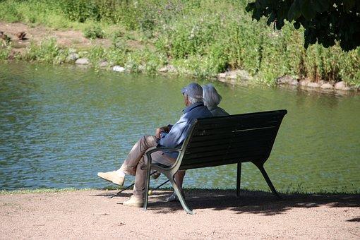 People, Old-timer, Older, The Lake, Old, Wood, Park