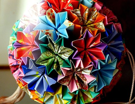 Origami, Paper, Fold, Tinker, Japan, Decoration
