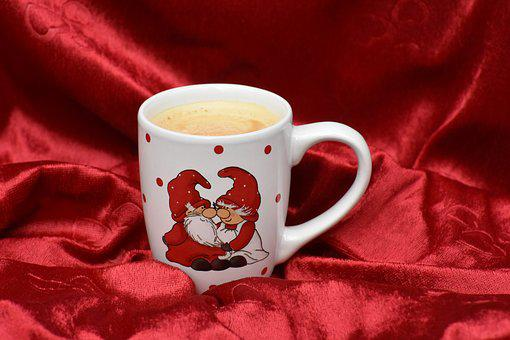 Christmas, Coziness, Coffee, Fresh, Cup, Imp, Pair