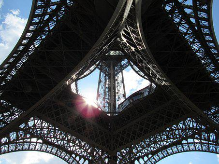 Eiffel Tower, Eiffel, Tower, Architecture, Paris