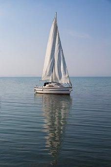 Sailing, Water, Boat, Ship, Marine, Sail, Nature