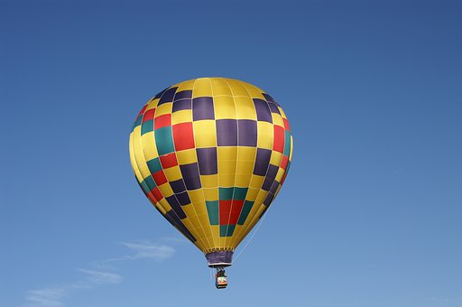 Hot Air Balloon, Balloon Festival, New Mexico, Sky
