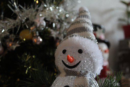 Christmas, Snowman, Cold, Winter, Scarf, Wintry, Deco
