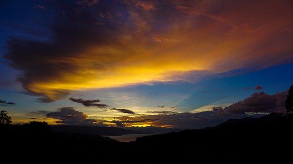 Sunset, Landscape, Photos, The Landscape, Nature