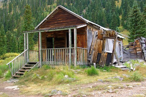 Gustavson House, Ghost, Town, Abandoned, Mining, Animas