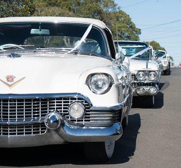Wedding Cars, Cadillac, White Cars, Automotive, Wedding
