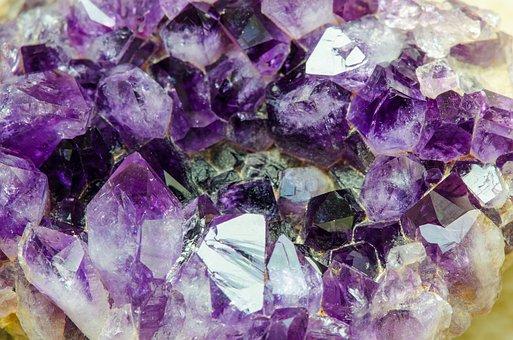 Amethyst, Gem, Quartz, Stone, Mineral, Violet, Purple