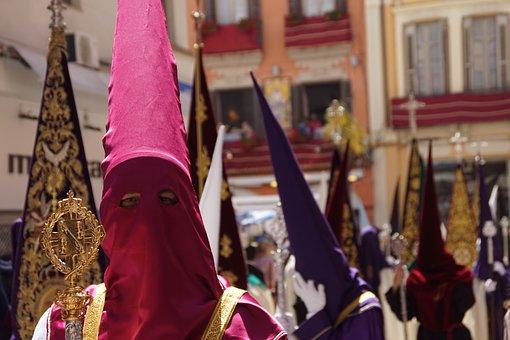 Semana Santa, Malaga, Procession, Holy Week, Andalusia