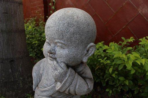 Temple, Sculpture, Asia, Religion, Meditation, Break