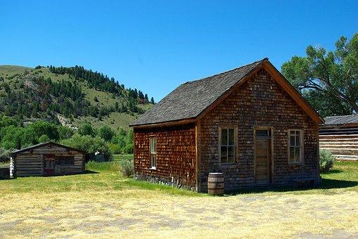 Bannack Montana Scene, Bannack, Montana, Historic