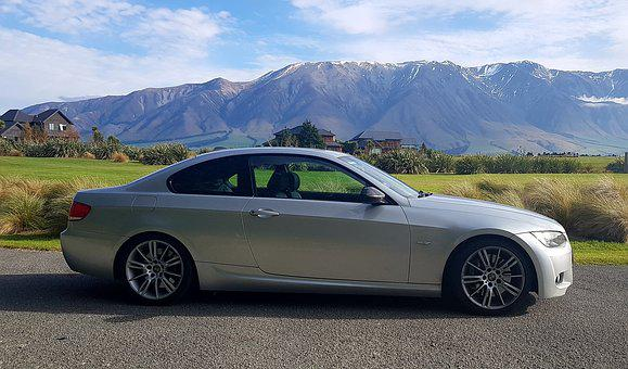 Bmw, Coupe, Silver Car, Bmw Coupe