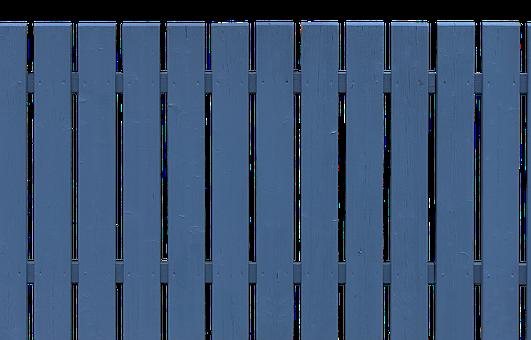 Wood, Fence, Boards, Battens, Blue, Wooden Boards