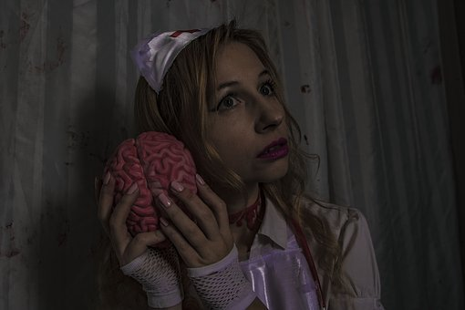 Crazy, Brains, Hospital, The Voices In My Head, Brain