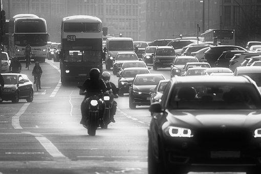 Traffic, Diesel, Driving Ban, Road, City, Auto