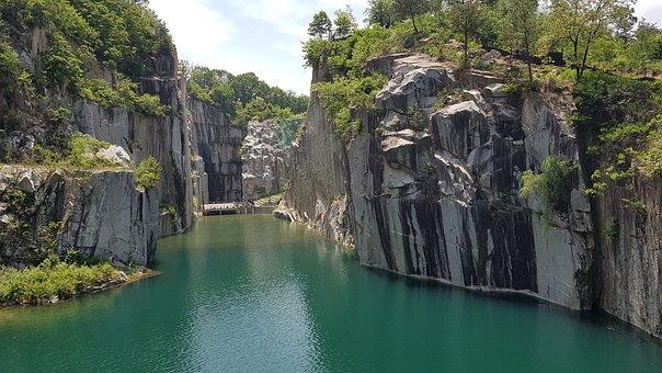 Art Valley, Perak, Lake, Pond, Nature, Water, Cliff