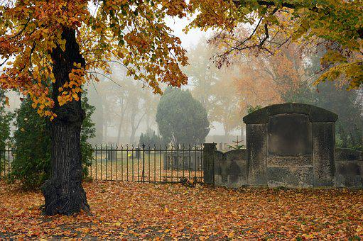 Cemetery, Silent, Commemorate, All Saints, All Souls