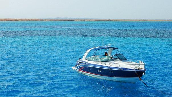 Red Sea, Boat, Marine, Ship, Blue, Coral Island