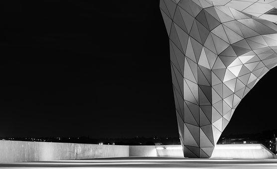 Architecture, Confluence, Design, Lyon, Reflections