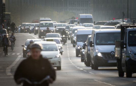Driving Ban, Diesel, City, Auto, Road, Fine Dust
