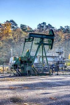 ölpferd, Oil Pump, Promote, Crude Oil, Fuel, Industry