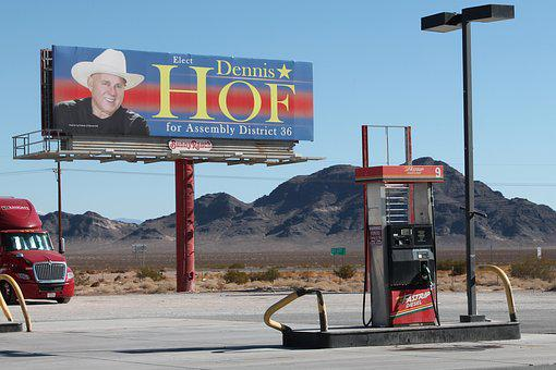 Dennis Hof, Nevada, Elections, Pimp, Gas Station
