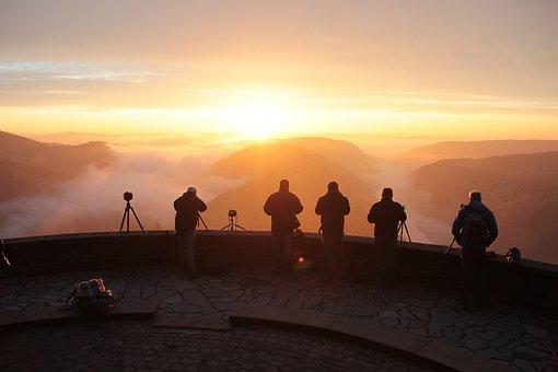 Human, Photographer, Landscape, The Autumn Mist