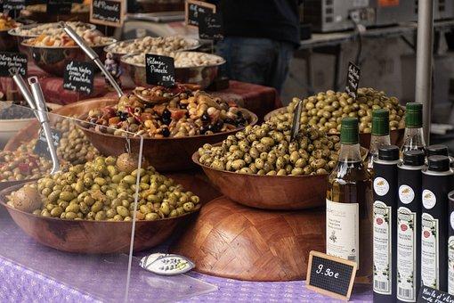 Olives, Olive Oil, Market Day, Market, Country Market