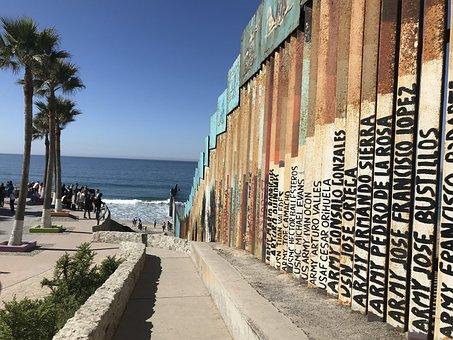 Border, Tijuana, Mexico, Folk