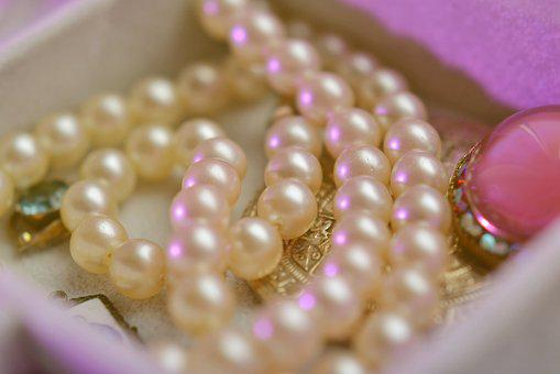 Pearls, Jewelry, Necklace, Beads, Shine, Decorative