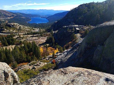 Donner Lake, Fall, California, Nevada, Truckee