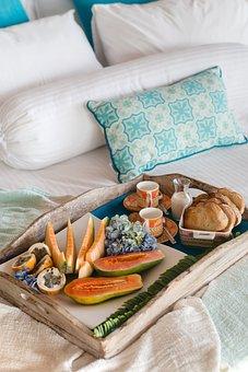 Bed, Bedroom, Pillows, Linen, Interior, Pillow, Dream