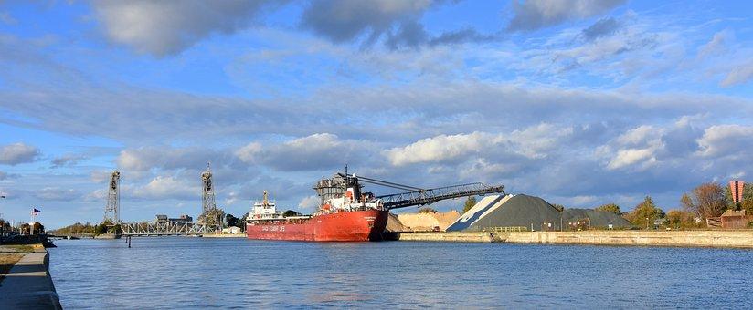 Port Colborne, Welland Canal, Lake Erie