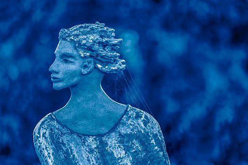 Sculpture, Snow Queen, Figure, Female, Statue, Artwork
