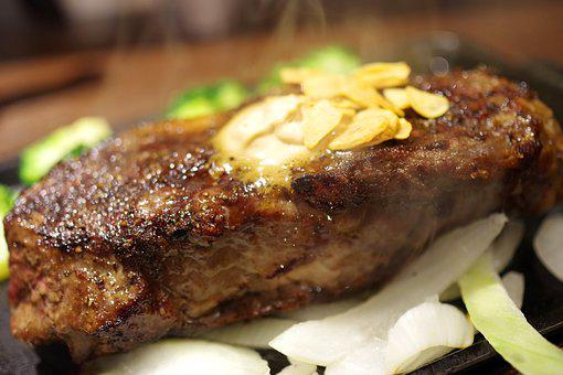 Steak, Sirloin, Meat, Beef, Eat, Food, Cuisine