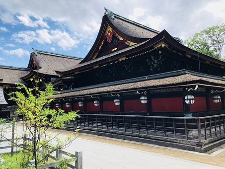 Japan, Culture, History, Building, Temple, Blue Sky