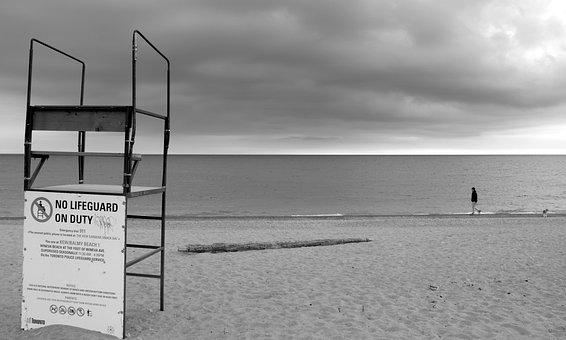 Toronto, Beach, Lifeguard