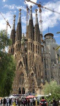 Sagrada Familia, Spain, Tourism, Repair