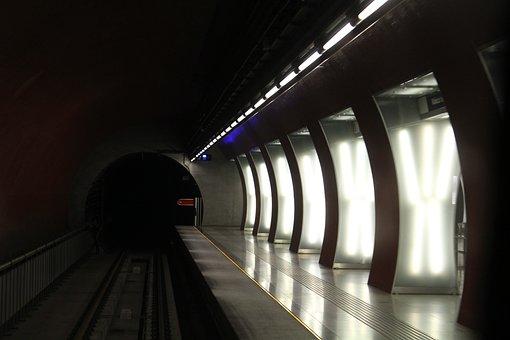Metro, Four Metro, Alag The, Tube, Station, Stop