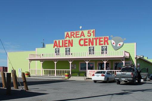 Area 51, Gift Shop, Nevada, Aliens, Usa, Ufo