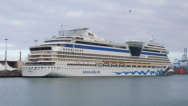 Cruise Ship, Cruise, Ship, Aida, Aidablu, Vacations