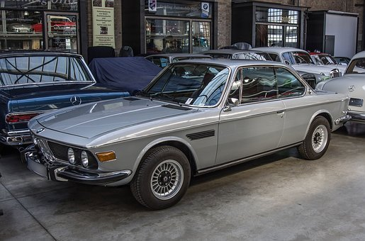 Bmw, Coupe, Oldtimer, Auto, Sports Car, Vehicle, Silver