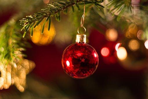 Christmas Bauble, Christmas, Decoration, Ball