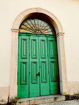 Door, Former, Architecture, Entry, Wood, Old