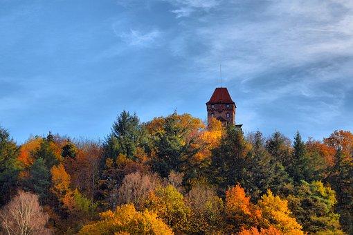Berwartstein, Erlenbach Dahn, Autumn, Tower